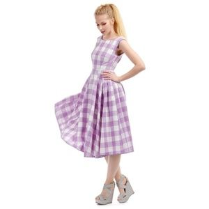 NWT Collectif/Modcloth Gingham Dress